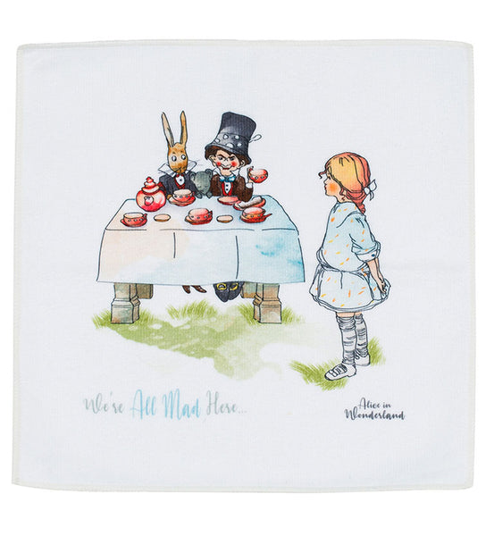 Mabel Lucie Attwell Face cloth (Set of three in gift box) from the Alice in Wonderland collection