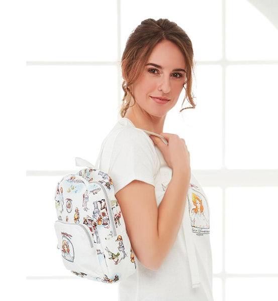 Alice in Wonderland – Canvas Mini Backpack