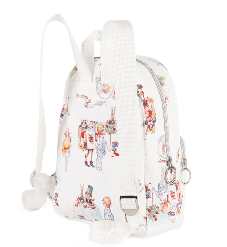 Mabel Lucie Attwell Canvas Mini Backpack from the Alice in Wonderland collection