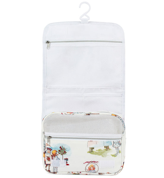 Mabel Lucie Attwell Canvas Toiletry Organiser Bag from the Alice in Wonderland collection