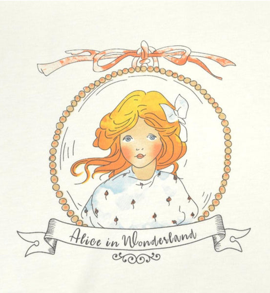 Mabel Lucie Attwell - Alice Short Sleeve T'shirt from the Alice in Wonderland collection