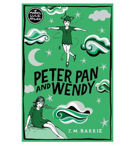 Front cover, Peter Pan and Wendy, paperback edition