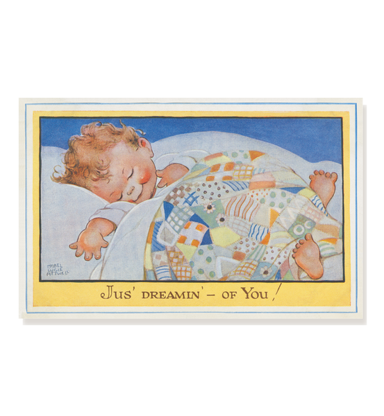 Jus' dreamin' – of you! (pack of three postcards)