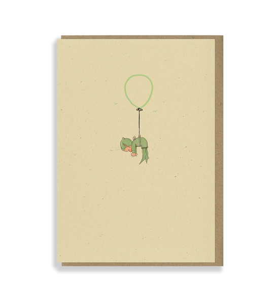 We've been hearing' it's your birthday! Greetings card
