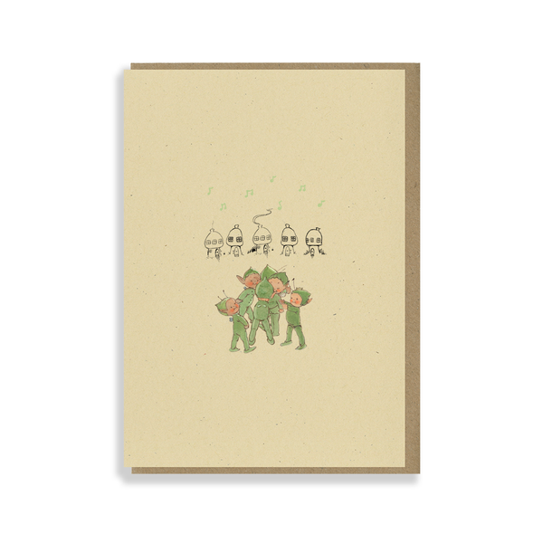 Oh how happy those Boo-Boos are to see each other again! Greetings card