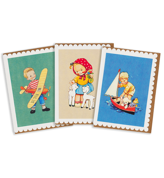 Mabel Lucie Attwell the great outdoors greeting card pack