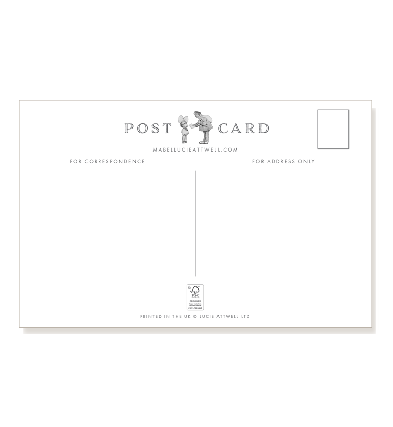 This one's for you dear (pack of three postcards)