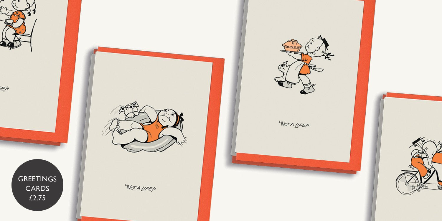 Mabel Lucie Attwell's greetings card writing pack