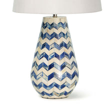 Load image into Gallery viewer, Cassia Chevron Table Lamp