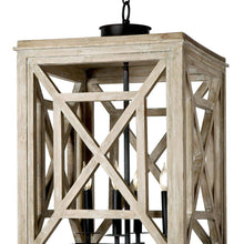 Load image into Gallery viewer, Wood Lattice Lantern