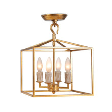 Load image into Gallery viewer, Cape Lantern Extra Small - Finish:  Antique Gold Leaf