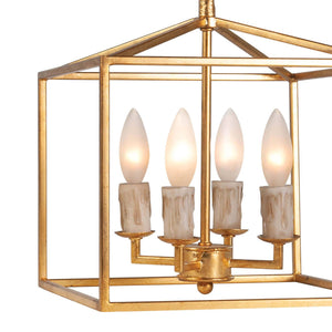 Cape Lantern Extra Small - Finish:  Antique Gold Leaf