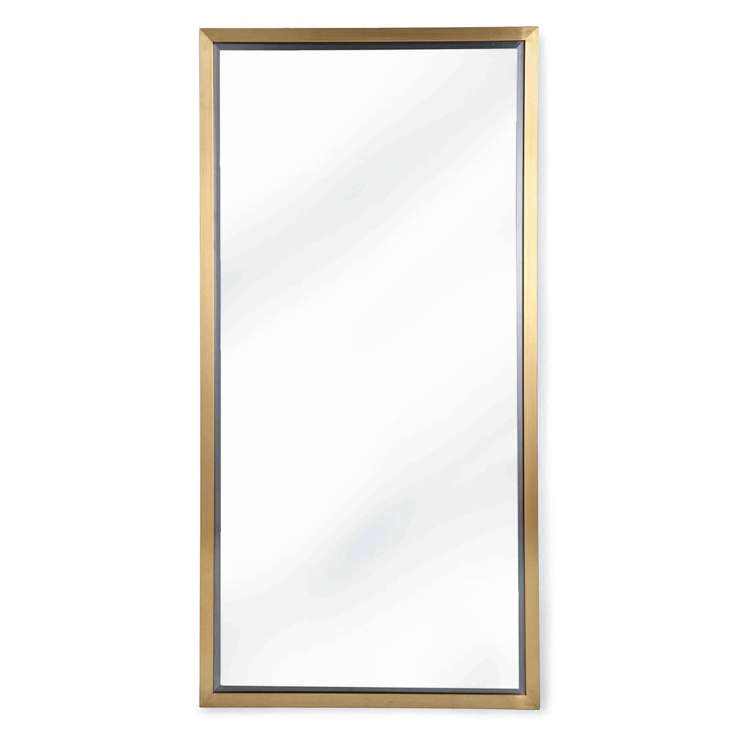 Rectangle Mirror - Polished Brass