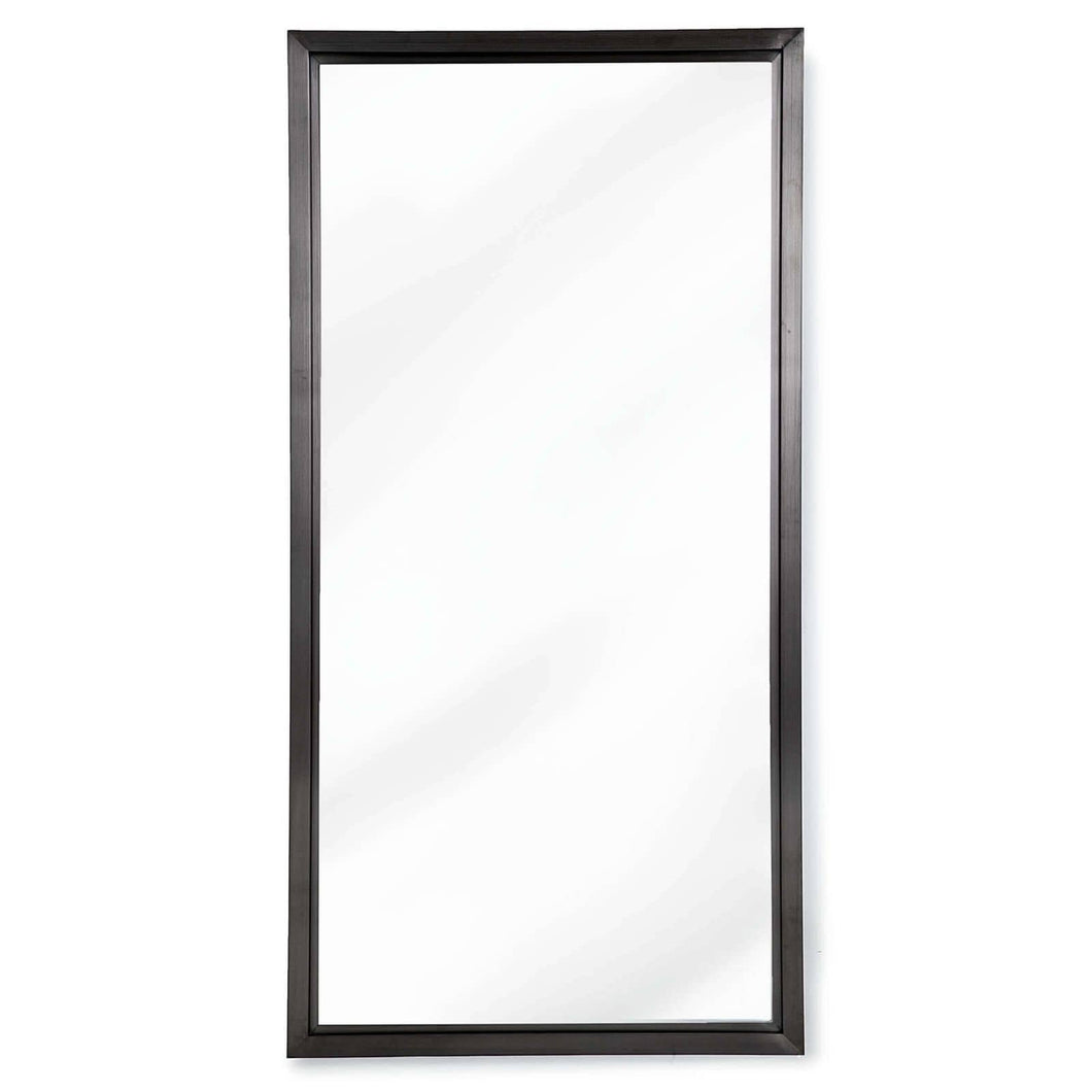 Rectangle Mirror - Blackened Steel