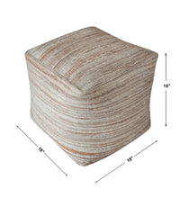 Load image into Gallery viewer, SHIRO POUF, BEIGE