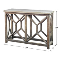 Load image into Gallery viewer, CATALI CONSOLE TABLE