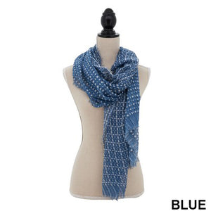 S7009 Dot Dash Scarf