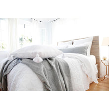 Load image into Gallery viewer, OSLO - WHITE COVERLET/ BLANKET