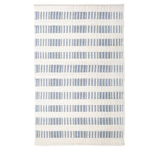 Load image into Gallery viewer, BROOKE HANDWOVEN RUG - NORDIC BLUE