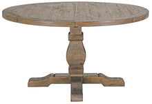 "Load image into Gallery viewer, Caleb 55"" Round Dining Table Desert Gray"