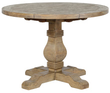 "Load image into Gallery viewer, Caleb 42"" Round Dining Table Desert Gray"