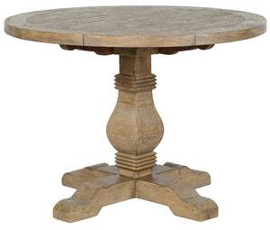 "Caleb 42"" Round Dining Table Desert Gray"
