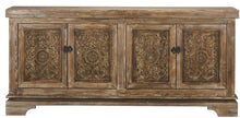 Load image into Gallery viewer, Amita 4Dr Sideboard Brown Stone