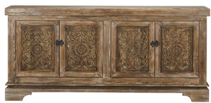 Amita 4Dr Sideboard Brown Stone