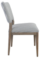 Load image into Gallery viewer, Phillip Upholstered Dining Chair Striped EV