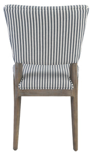 Phillip Upholstered Dining Chair Striped EV