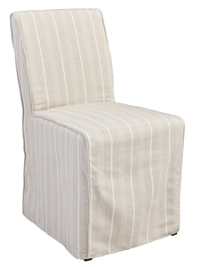 Amaya Upholstered Dining Chair Stiped