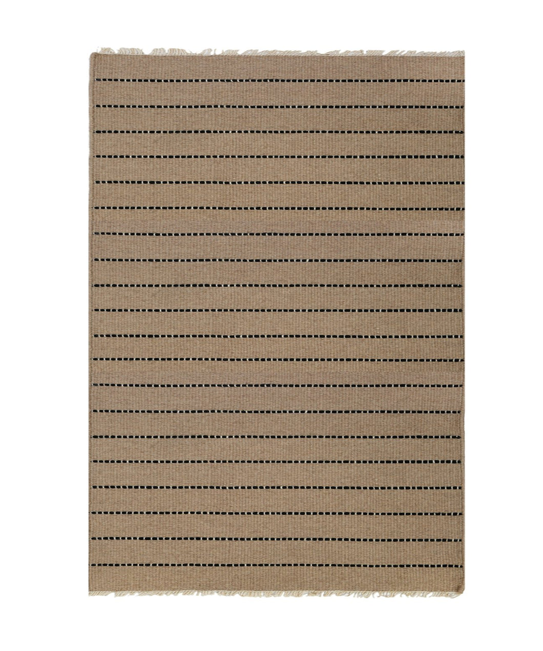 WARBY HANDWOVEN RUG - NATURAL