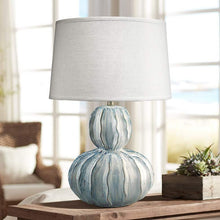 Load image into Gallery viewer, OCEANE GOURD TABLE LAMP