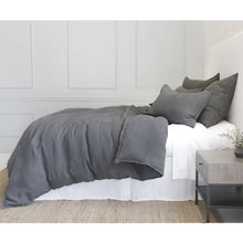Load image into Gallery viewer, BLAIR - MIDNIGHT DUVET COVERS & SHAMS