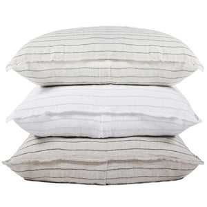 BLAKE - FLAX/MIDNIGHT DUVETS COVERS AND SHAMS