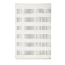 Load image into Gallery viewer, BROOKE HANDWOVEN RUG - LIGHT GREY