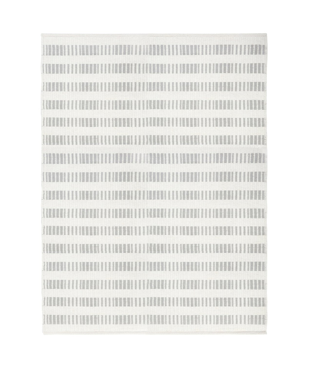 BROOKE HANDWOVEN RUG - LIGHT GREY