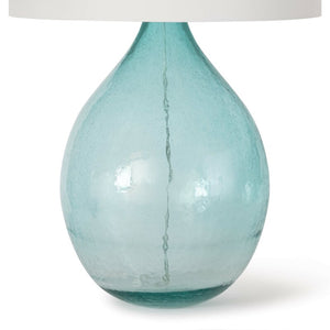 "Catalina Glass 32"" Table Lamp"