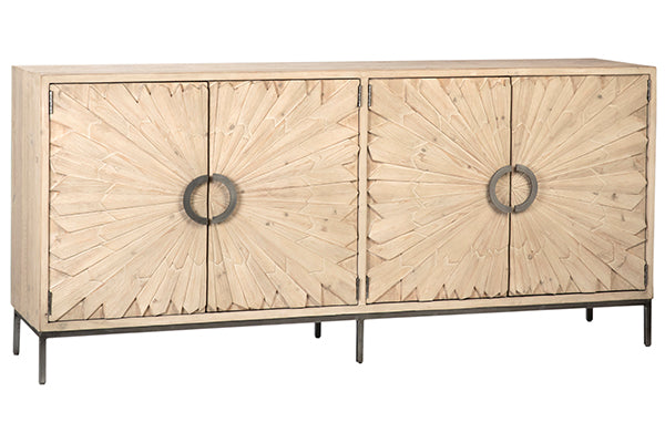 MABARI SIDEBOARD GREY WHITE