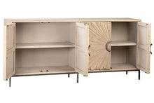 Load image into Gallery viewer, MABARI SIDEBOARD GREY WHITE