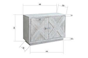 GRAYSON 2 DOOR SIDEBOARD
