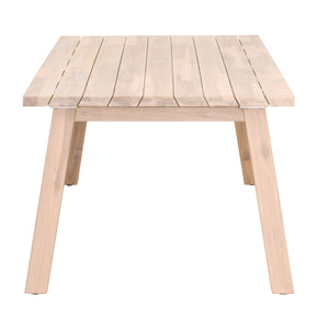 DIEGO OUTDOOR DINING TABLE BASE Gray Teak