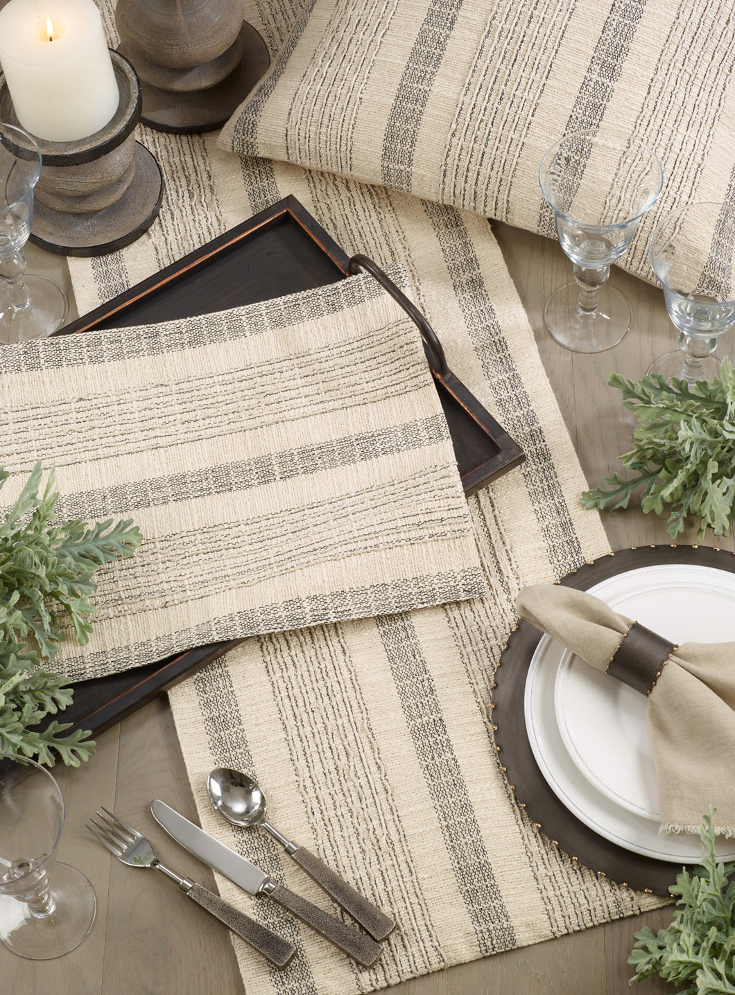 Striped Woven Placemat