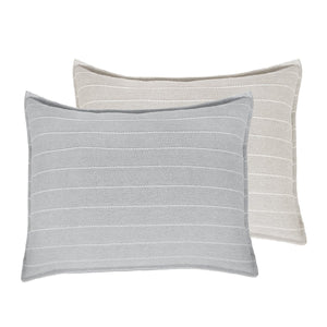 "HENLEY BIG PILLOW 28"" X 36"" WITH INSERT - 2 COLORS"
