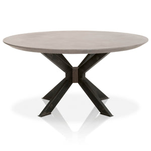 "INDUSTRY 60"" ROUND DINING TABLE"