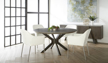 "Load image into Gallery viewer, INDUSTRY 60"" ROUND DINING TABLE"