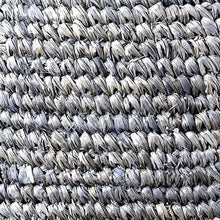 "Load image into Gallery viewer, Anika Pendant Woven Raffia-Grey Hanger: Rope-Grey Wash 20""w x 21""h"
