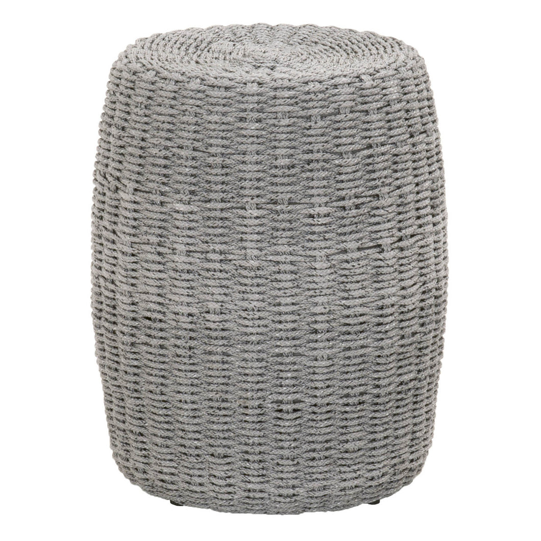 LOOM ACCENT TABLE Platinum Rope