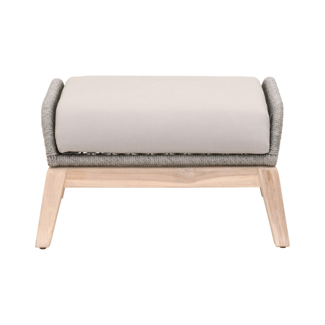LOOM OUTDOOR FOOTSTOOL