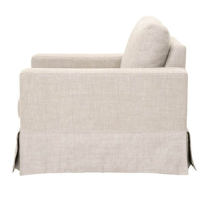 MAXWELL SOFA CHAIR Bisque French Linen